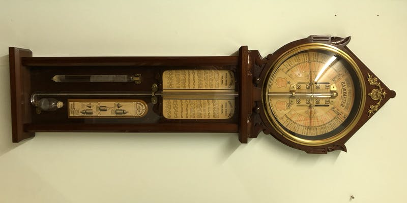 A barometer