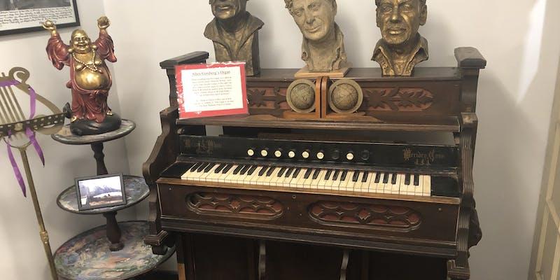 Allen Ginsberg's organ.