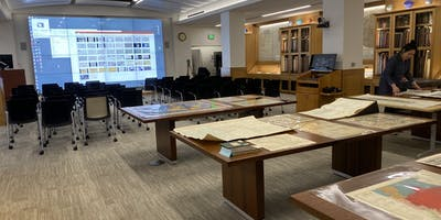 A room full of maps.