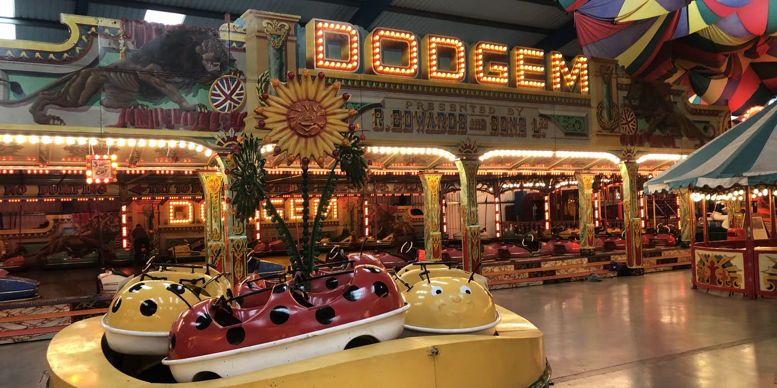 Dodgems at Dingles