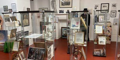 Displays inside the museum.