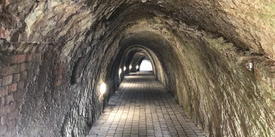 A tunnel to the beach.