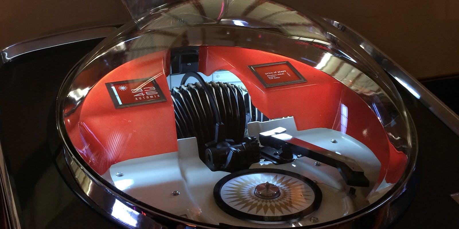 Details of a Jukebox.