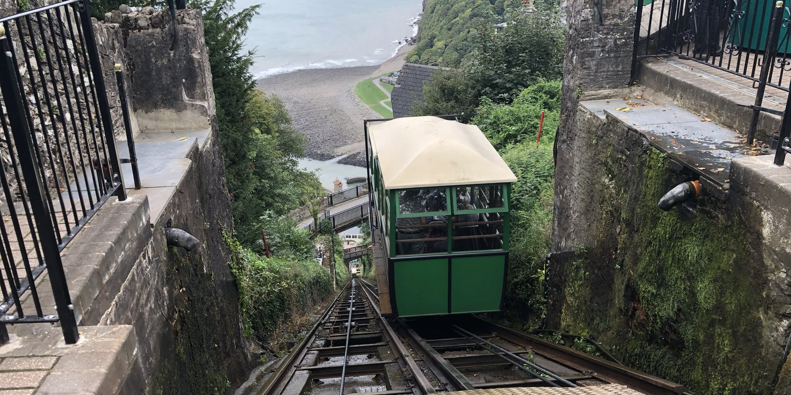 The Cliff Railway.