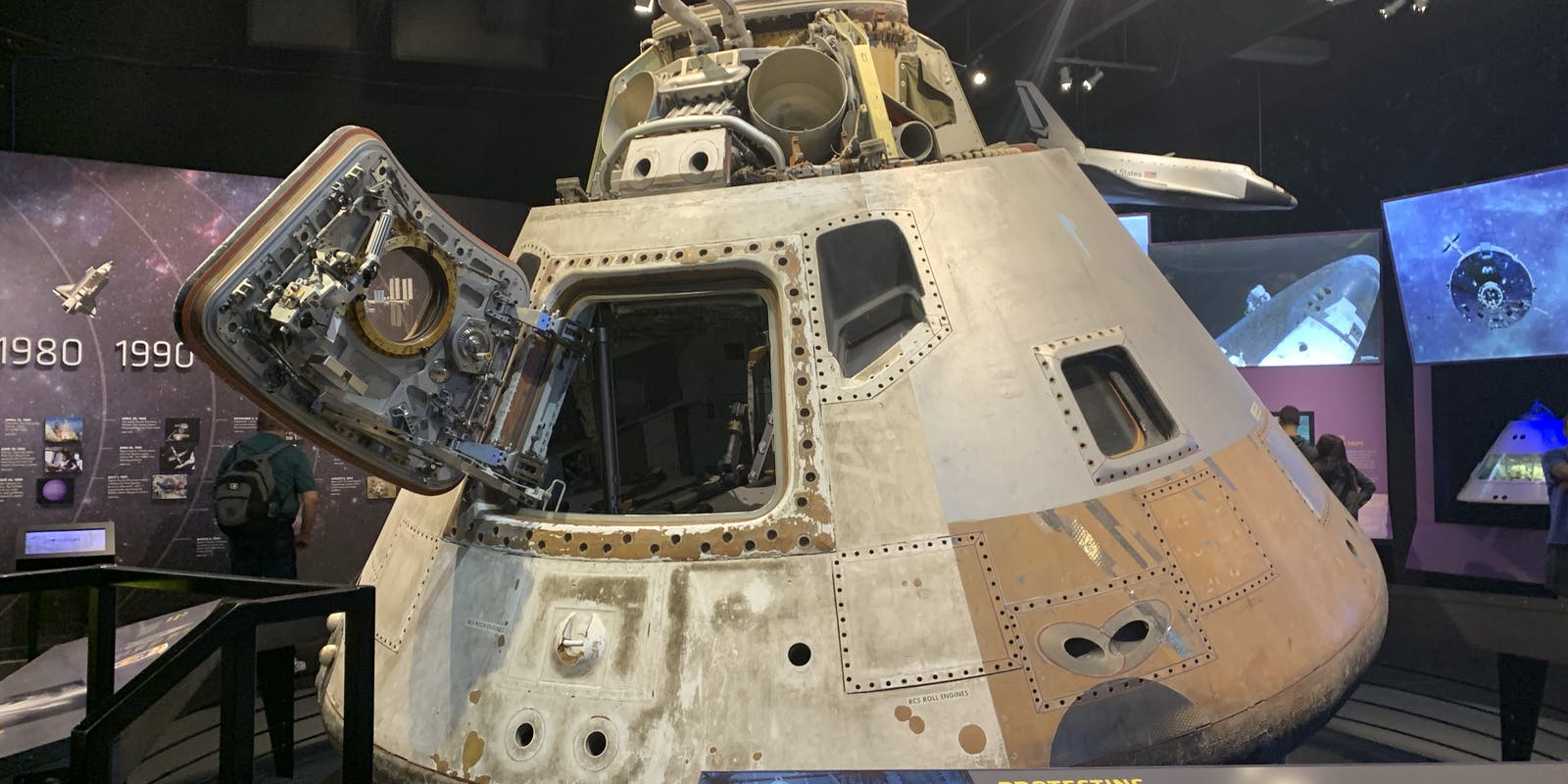 1973 Skylab 3 Apollo Command Module.