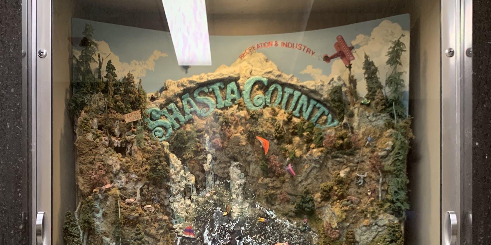 Shasta County diorama